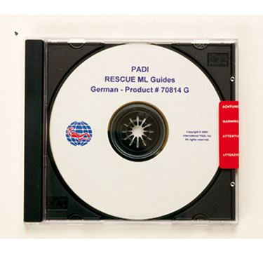 Picture of RESCUE ML Guides CD-ROM
