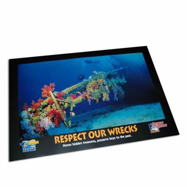 Picture of Poster - Respect Our Wrecks