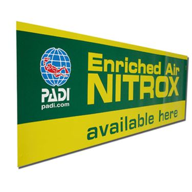 Picture of PADI EANx Window Decal 60*15 cm