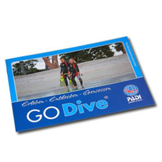Picture of GO DIVE Brochure
