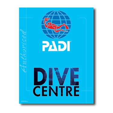 Picture of PADI DIVECENTER Decal
