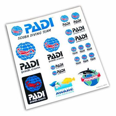 Picture of PADI Decal Set
