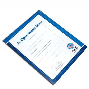 Picture of Certificate JUN. OW Diver