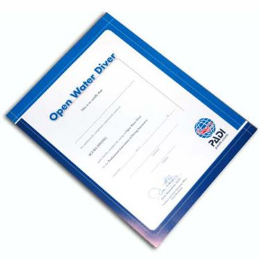 Picture of Certificate OW DIVER
