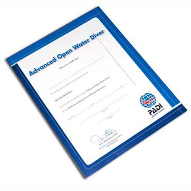 Picture of Certificate ADVANCED Diver