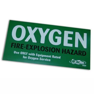 Picture of OXYGEN Cylinder Decal