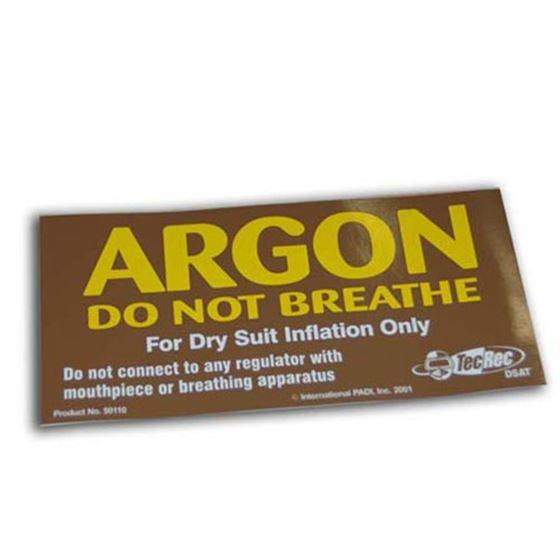 Picture of ARGON Cylinder Decal