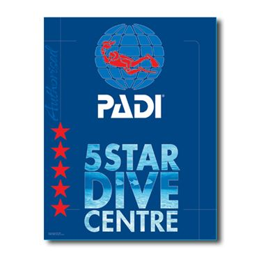 Picture of PADI 5 Star DC Decal