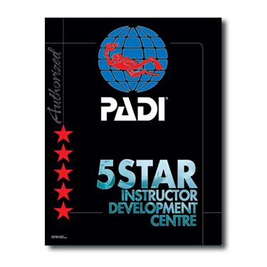 Picture of PADI 5 Star IDC Decal