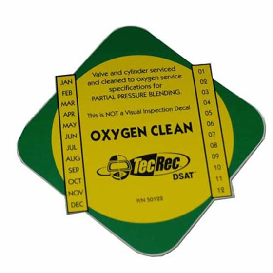 Picture of Oxygen Clean Tank Decal