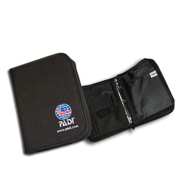 Picture of Binder - Adventure Log, Nylon Fabric, Black