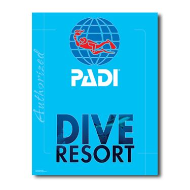 Picture of PADI Dive Resort Decal