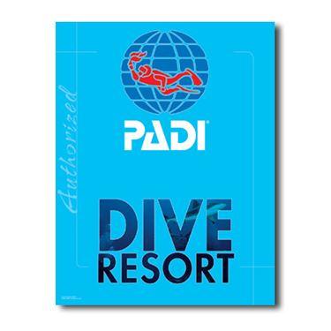 Picture of PADI Dive Resort Decal