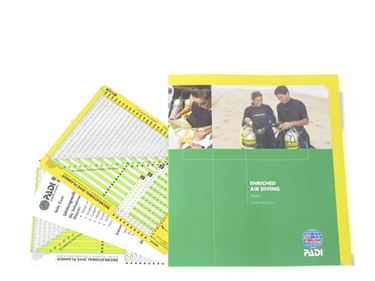 Picture of Manual - Enriched Air Diver, Metric, with Tables & Booklet (3 tables)