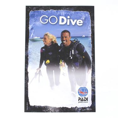 Picture of GO Dive Poster 21*30