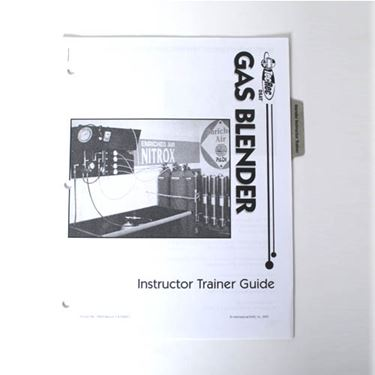 Picture of Gas Blender Instructor Trainer Guide
