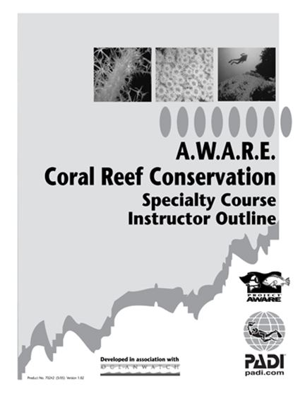 Picture of Specialty Outline - Coral Reef Conservation