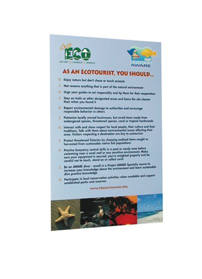 Picture of Sign - Go Eco, Ecotourist