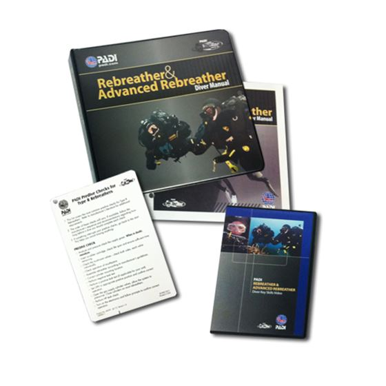 Picture of Crewpak - PADI Rebreather & Advanced Rebreather with DVD