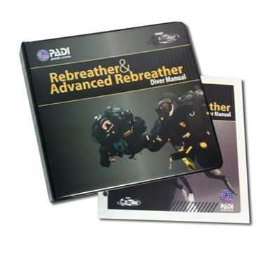 Picture of Manual - PADI Rebreather & Advanced Rebreather, w/Binder