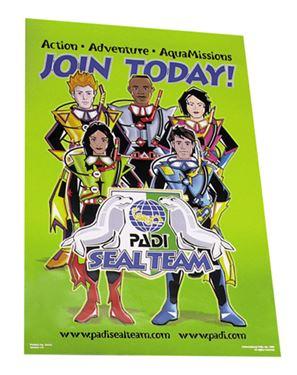 Picture of Poster - PADI Seal Team