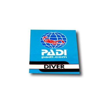 Picture of Decal - PADI Diver, Vinyl
