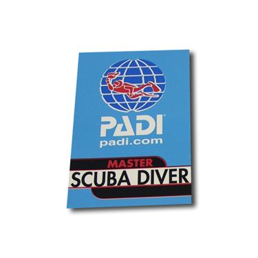 Picture of Decal - PADI Master Scuba Diver, Vinyl