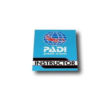 Picture of Decal - PADI Instructor, Vinyl