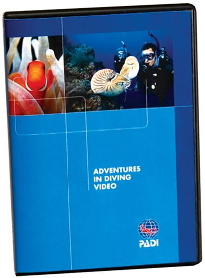 Picture of DVD - Adv in Diving, Diver Edition
