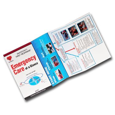 Picture of Reference Card - EFR Emergency Care at a Glance