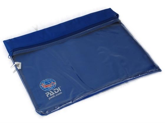 Picture of Bag - Crewpak, Clear/Blue