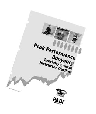 Picture of Specialty Outline - Peak Performance Buoyancy