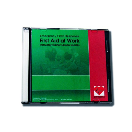 Picture of CD-ROM - EFR, First Aid at Work, Instructor Trainer LG's
