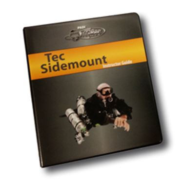 Picture of Instructor Guide - Tec Sidemount, with Binder