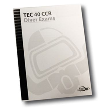 Picture of Exam - Tec 40 CCR Diver