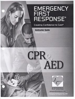 Picture of Instructor Guide - EFR CPR/AED