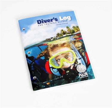 Picture of Diver's Log and Training Rec.