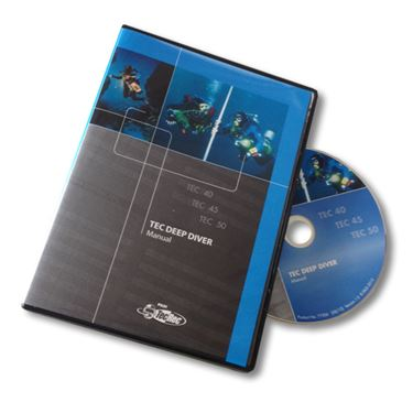 Picture of DVD-ROM - Manual Tec Deep Diver