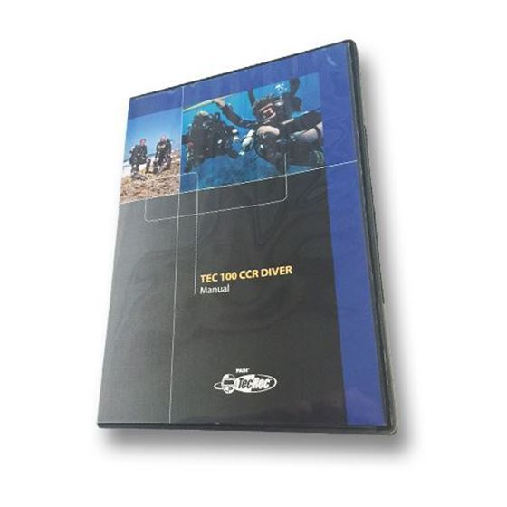 Picture of CD-ROM - Tec 100 CCR, Diver Manual
