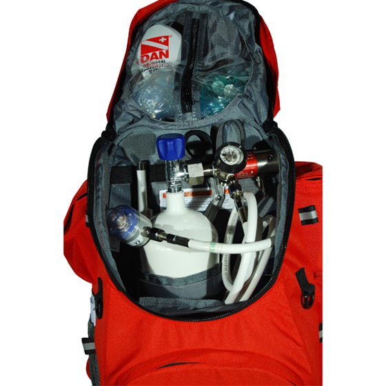 Picture of DAN Emergency backpack (con bombola ossigeno DIN477 vuota)