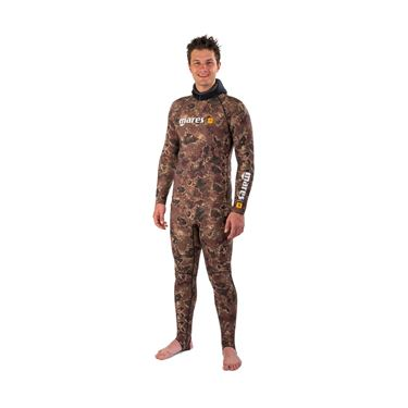 Picture of RASH GUARD CAMO BROWN TOP