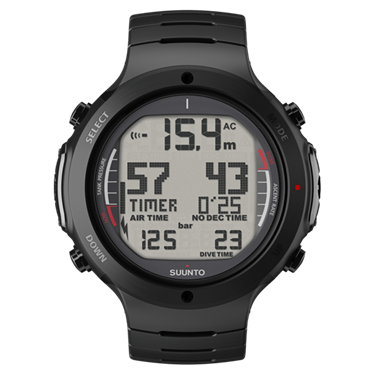 Picture of SUUNTO D6i ALL-BLACK STEEL WITH USB