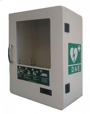 Picture of Armadietto impermeabile riscaldato a uso esterno per Defibrillatore DAE