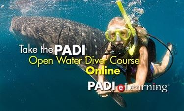 Picture of eLearning Online - Open Water Cert Pak (no PIC required)