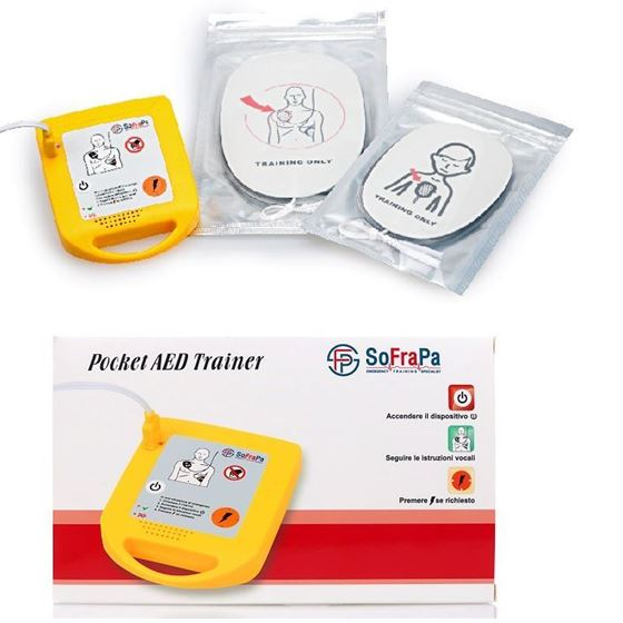 Picture of Defibrillatore Didattico Tascabile POCKET AED TRAINER