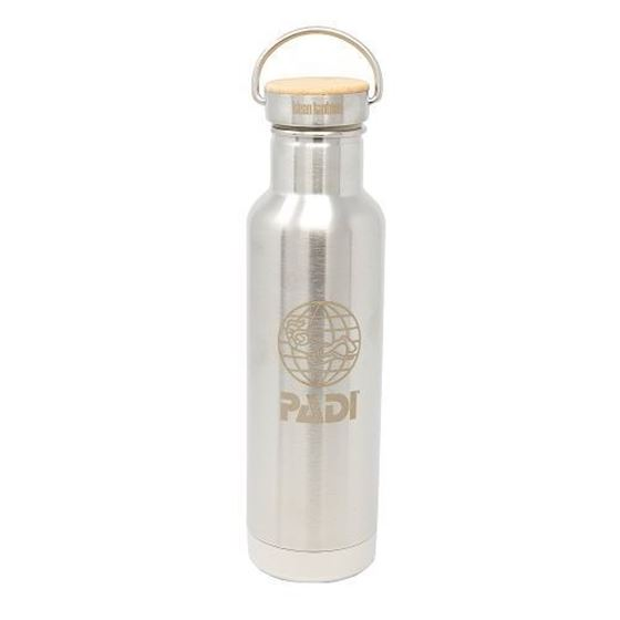 Picture of PADI X Klean Kanteen Insulated 20 oz (400 ML) Bottle - Brushed Stainless