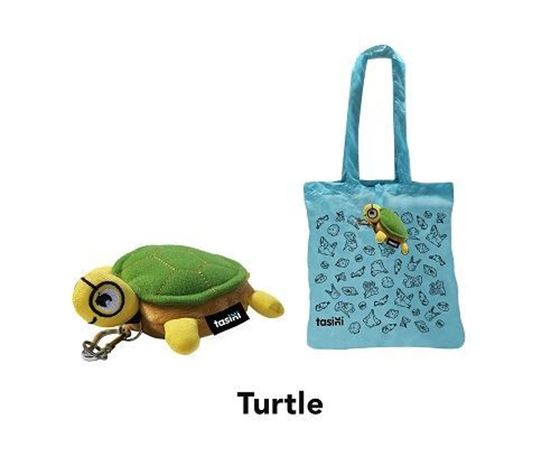 Picture of Tasini Turtle Keychain / Reusable Bag