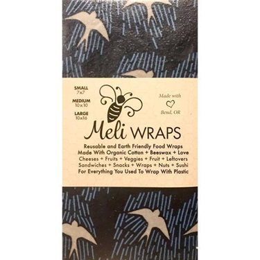 Picture of Meli Wraps Navy Manu 3 Pack