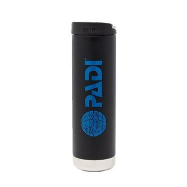 Picture of PADI X Klean Kanteen Wide Mouth 20 oz (600 ml) Insulated Bottle - Matte Black