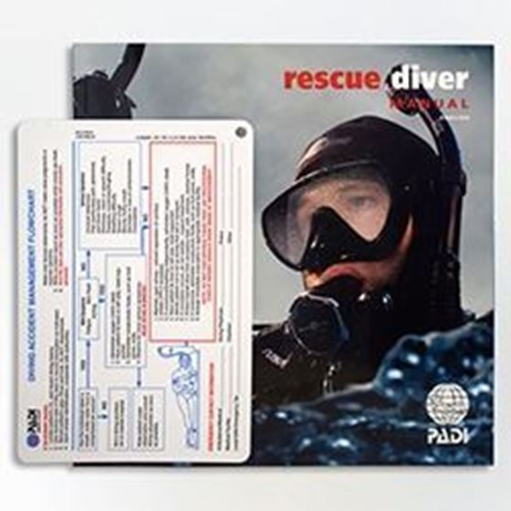 Picture of Manual - Rescue Diver con Accident Management Slate